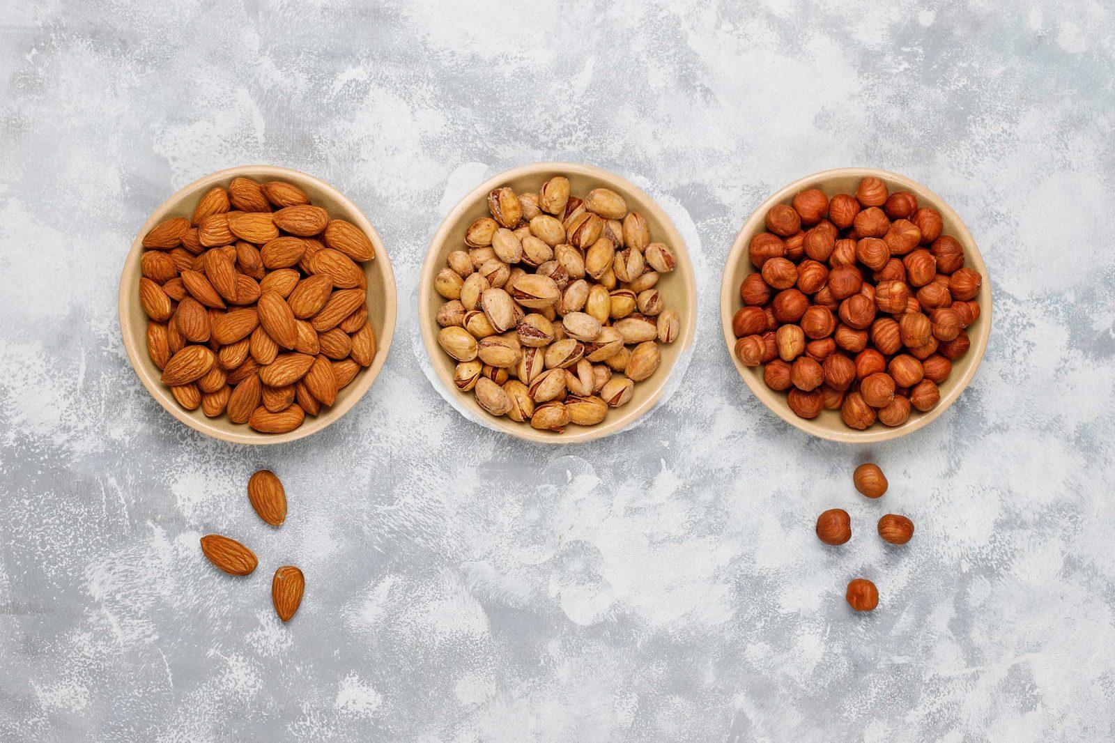 nuts-ceramic-walnuts-pistachiopine-nuts-peanut-raisin